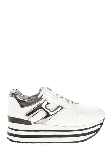 Derigo Platform Ayakkabı Beyaz